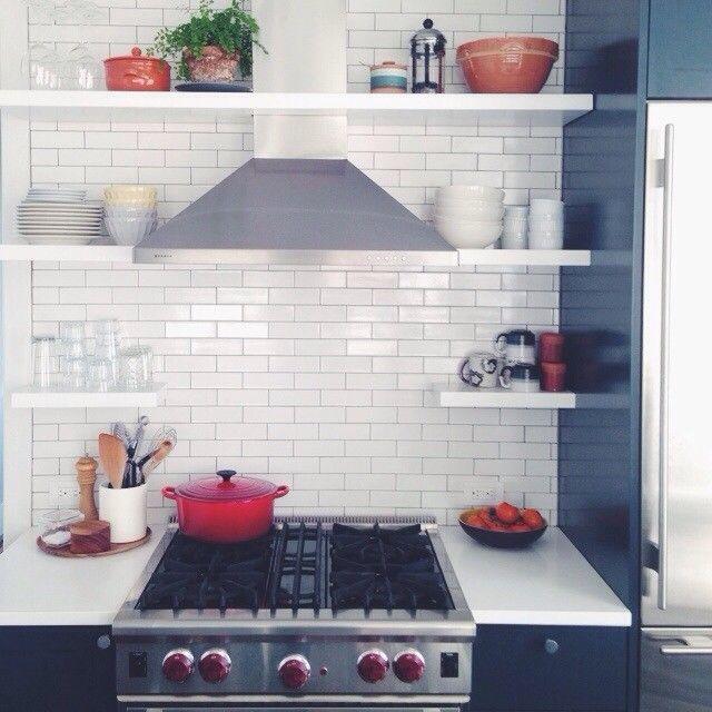 Heath tile in Tara Donne's kitchen.