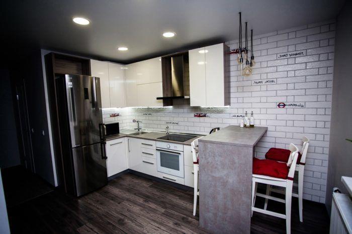 Кухни с Барной Стойкой: 118 фото (реальные) + 7 Видов ...
