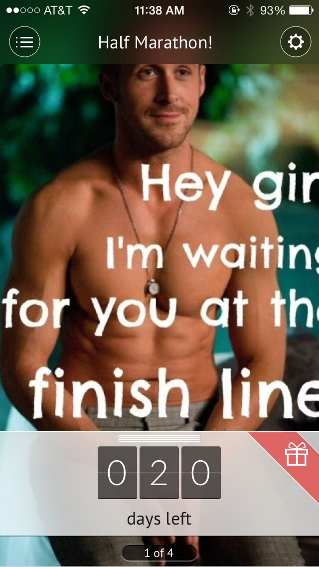 Pin By Ashley Scrivner On Get Fit Or Die Trying Hey Girl Ryan Gosling Hey Girl Memes Marathon Motivation