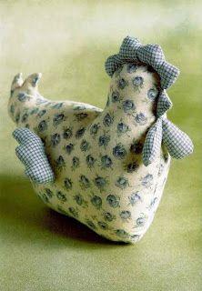 chicken pincushion pattern