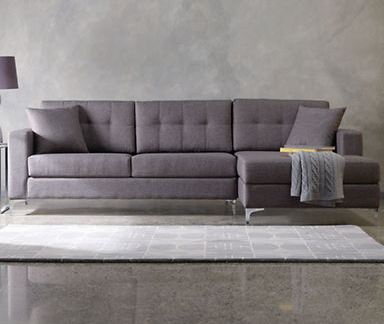 thebay furniture. FURNITURE Jorge 107\u0027 Sectional Sofa With Track Arms From The Bay Http:// Thebay Furniture U