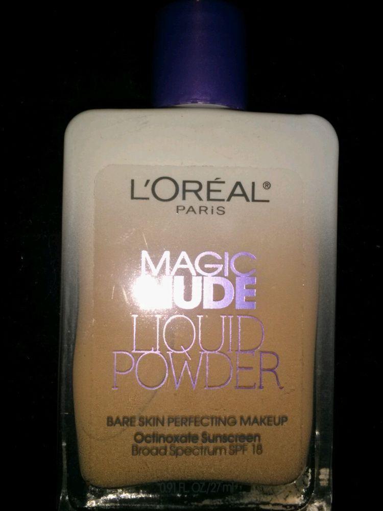 NEW From LOréal Paris-Magic Nude Liquid Powder Bare Skin Perfecting Makeup (Nude Beige) Review