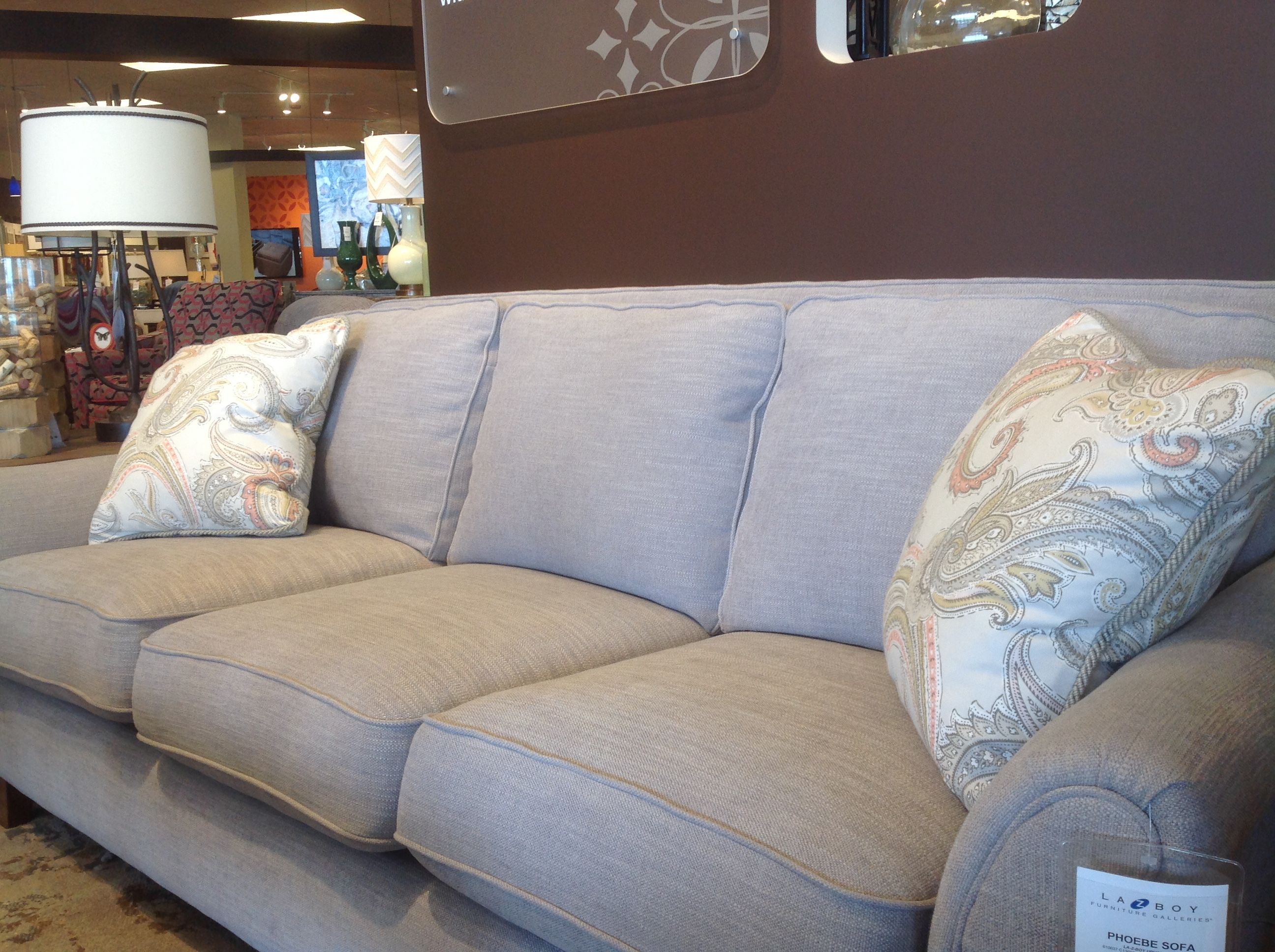 This A Photo Of The Phoebe Sofa At Lazy Boy Showroom Os Lazy Boy Sofas Lazy Boy Furniture Sofa