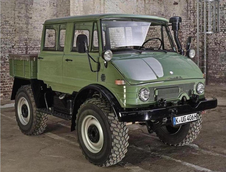 MercedesBenz Unimog sells for 82200 112831 at  Mercedes
