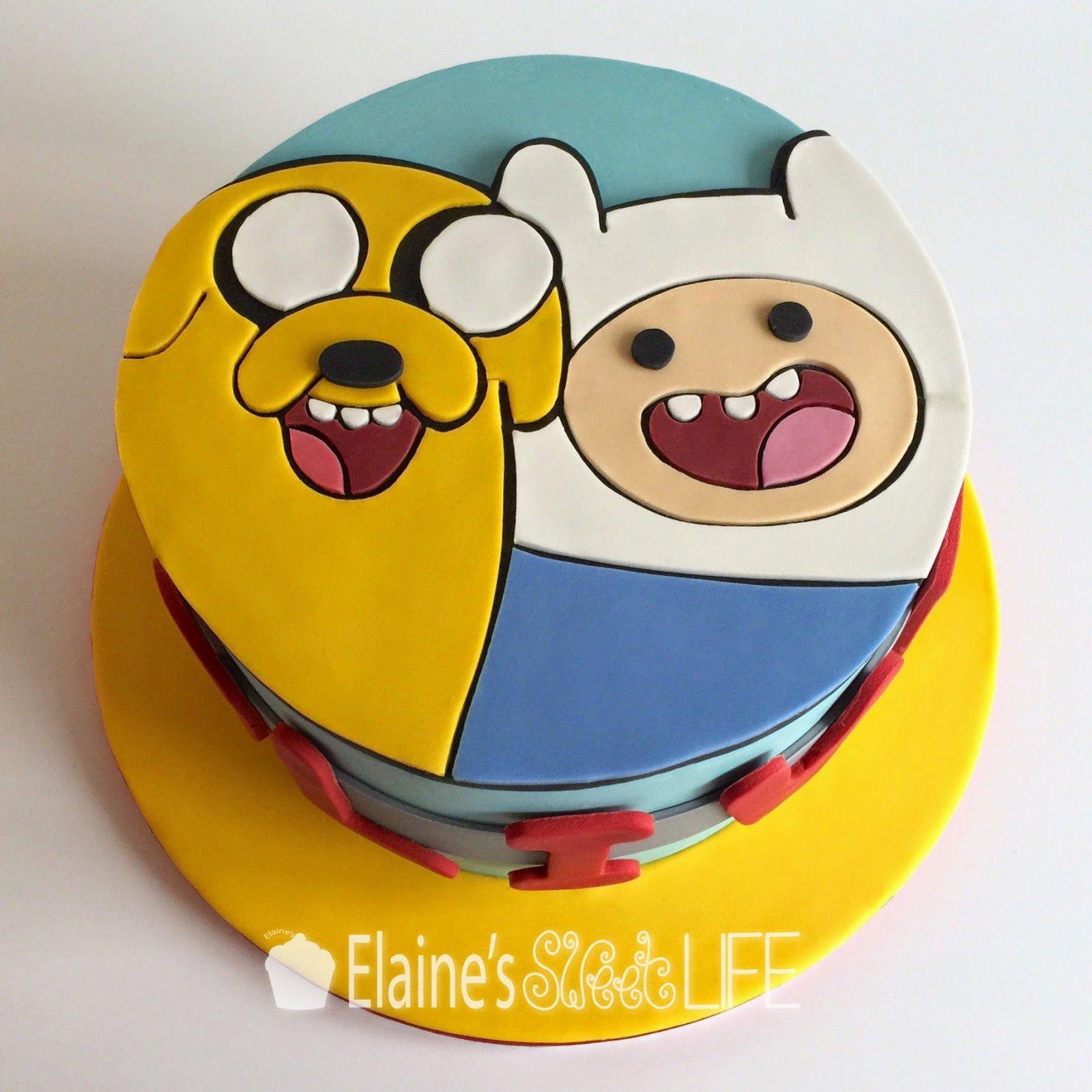 Elaine\'s Sweet Life: Adventure Time Cake | Decorated Cakes ...