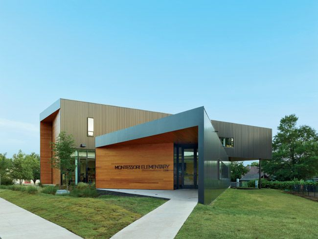 Architecture Schools In Arkansas Fayetteville Montessori Elementary School  Marlon Blackwell Architect Main Design