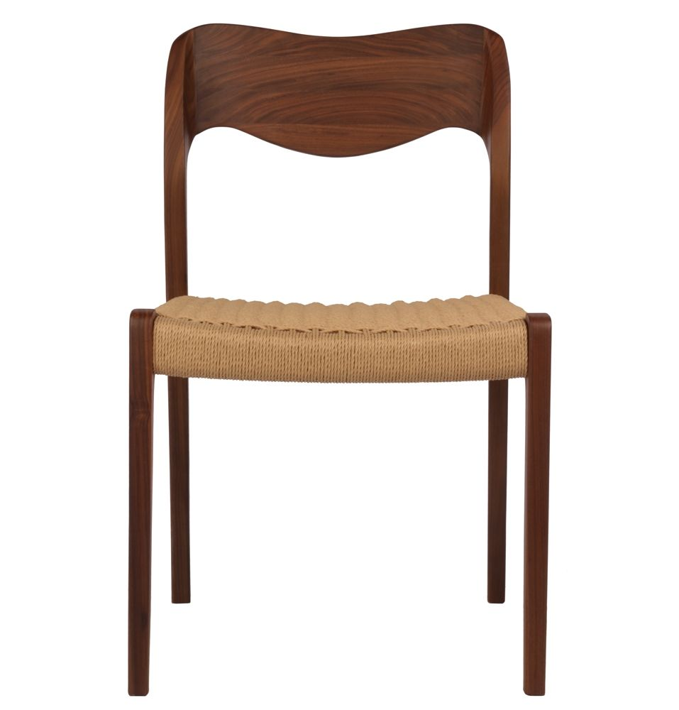 Premium replica niels moller model no chair in walnut eastern