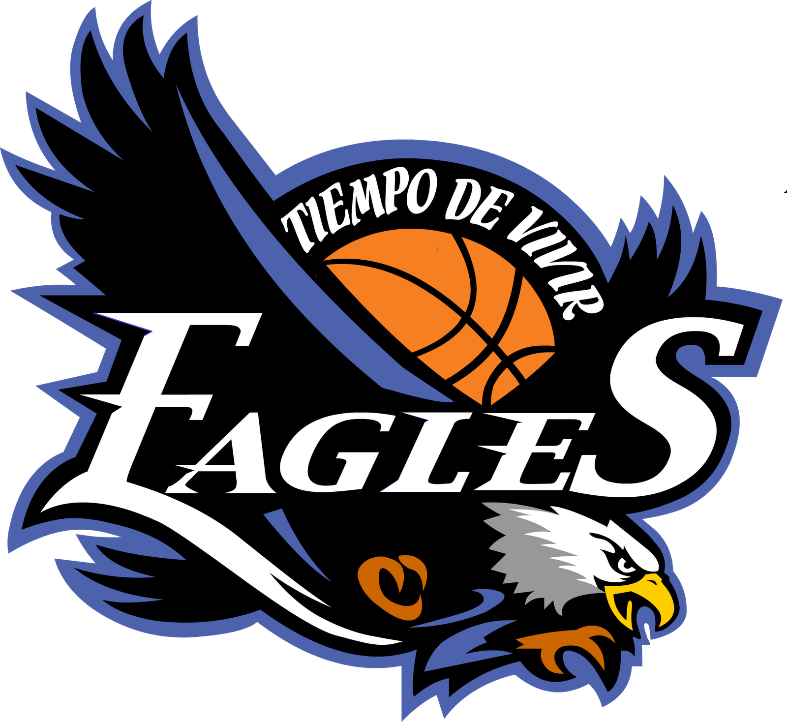 eagles basketball team logo clipart basketball