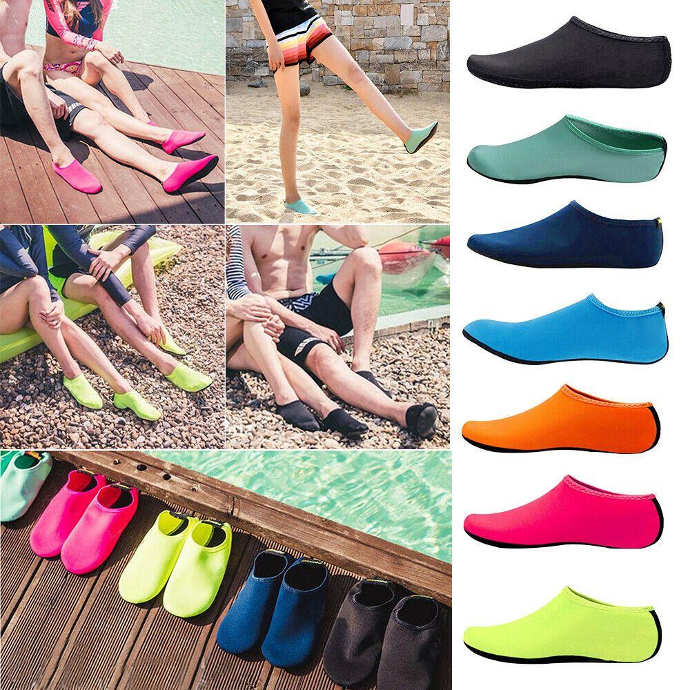 Unisex Womens Mens Water Shoes Beach Shoes Aqua-Shoes Swim Wetsuit Shoes US Size
