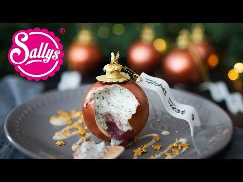 Weihnachtskugel Dessert mit Mousse / Christmas Ball Chocolate Dessert #nikolausbacken