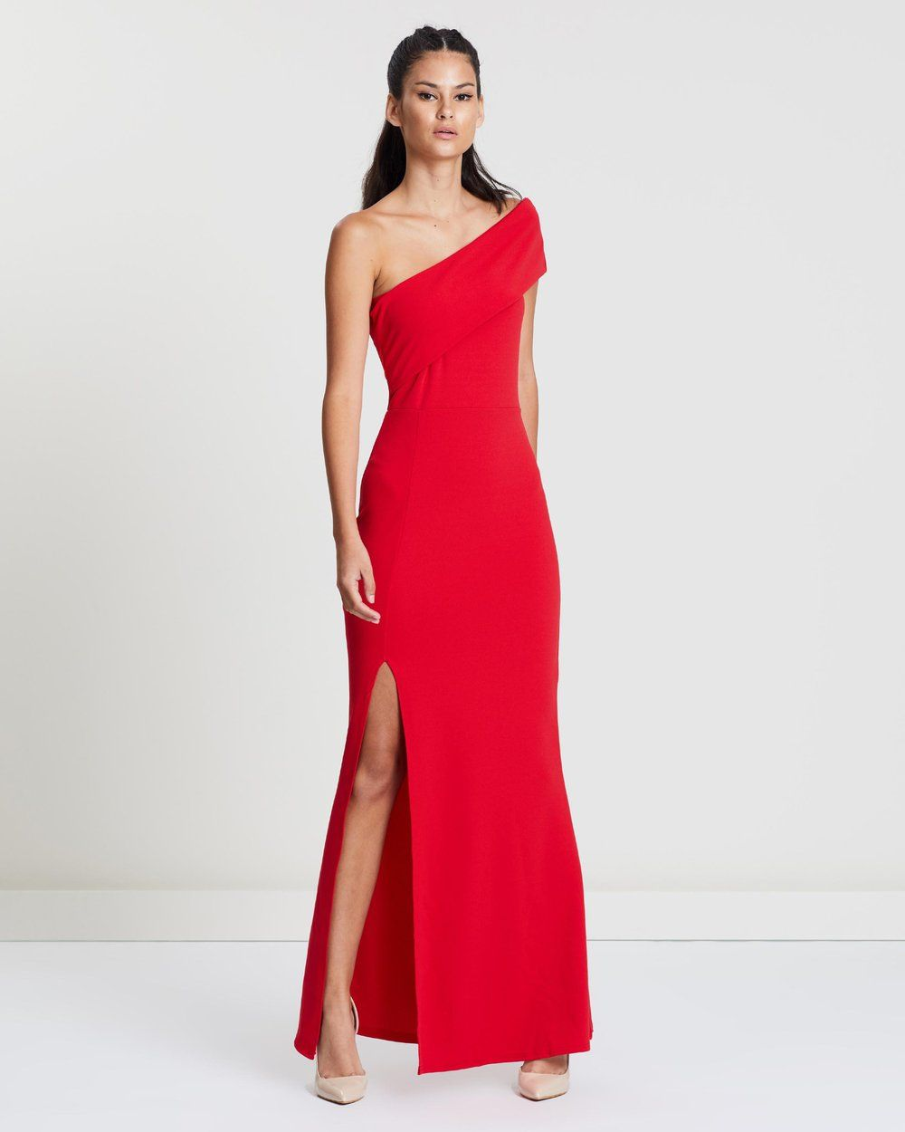 4200564c13a88b Buy One Shoulder Maxi Dress by Missguided online at THE ICONIC. Free and  fast delivery