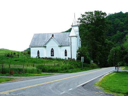 Old White Church Near Burkes Garden, Virginia | Churches 2 ...