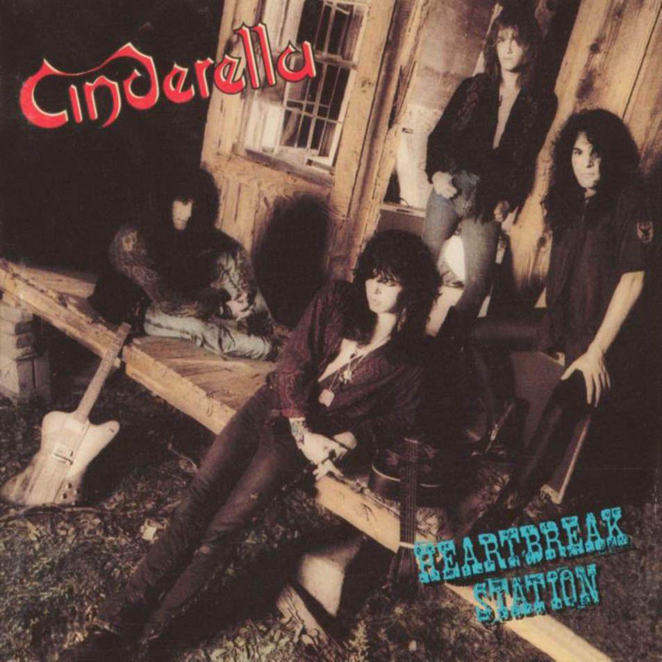 Caratula Frontal de Cinderella - Heartbreak Station