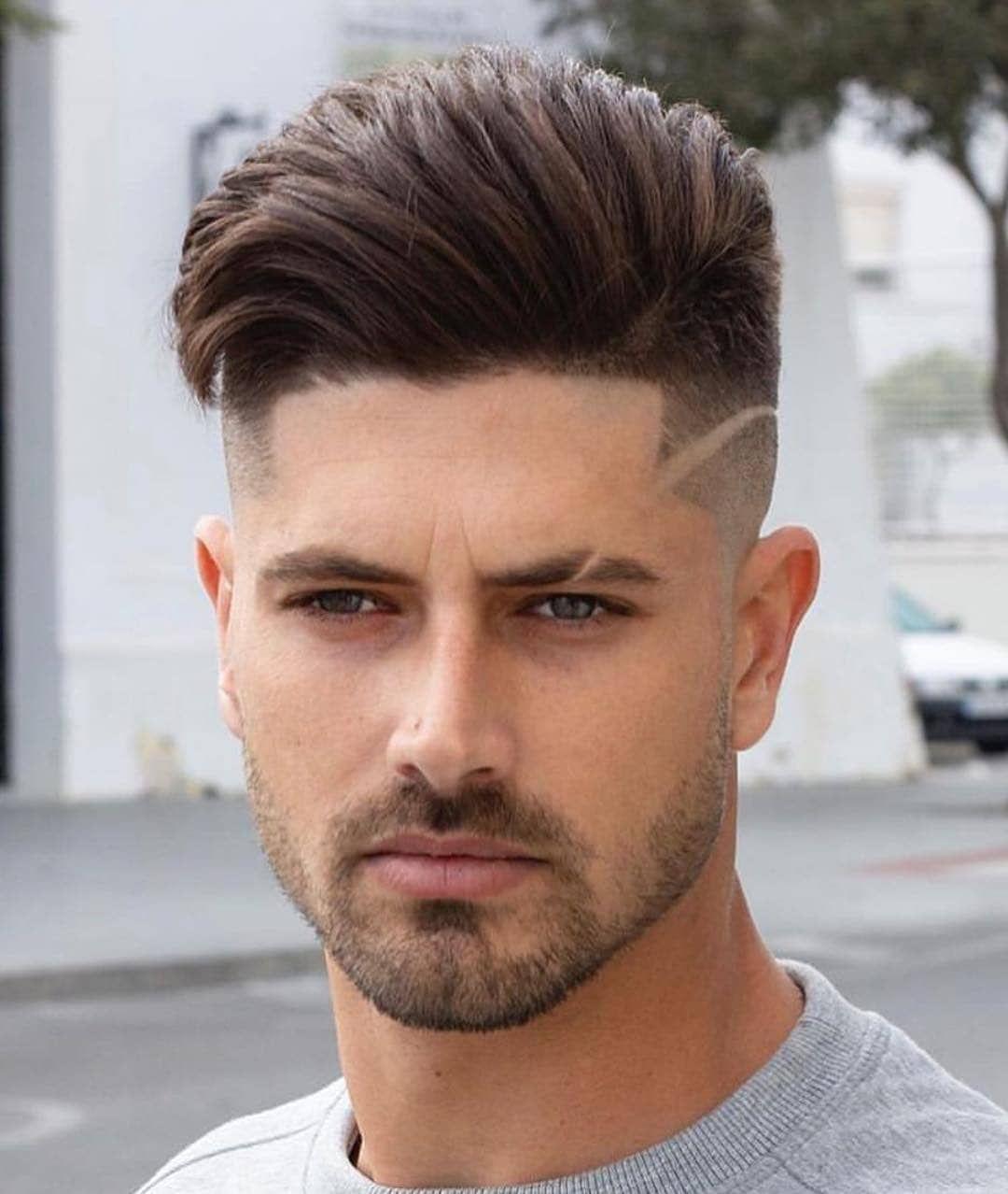 Skin Fade W Infinite Line Cool Hairstyles For Men Fade Haircut Men Haircut Styles