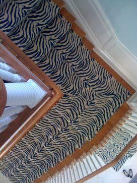 Seldom Scene - Florida Installation tropical staircase