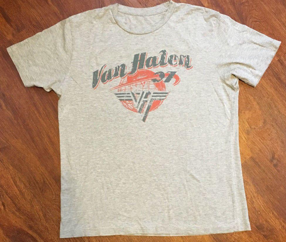 Van Halen 07 World Tour Gray T Shirt No Tag L Xl See Listing Super Soft Gray Tshirt Sweatshirt Shirt Shirts