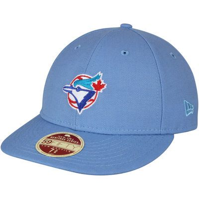 Toronto Blue Jays New Era Cooperstown Collection Vintage Fit 59FIFTY Fitted  Hat - Light Blue 854f621ad7a1