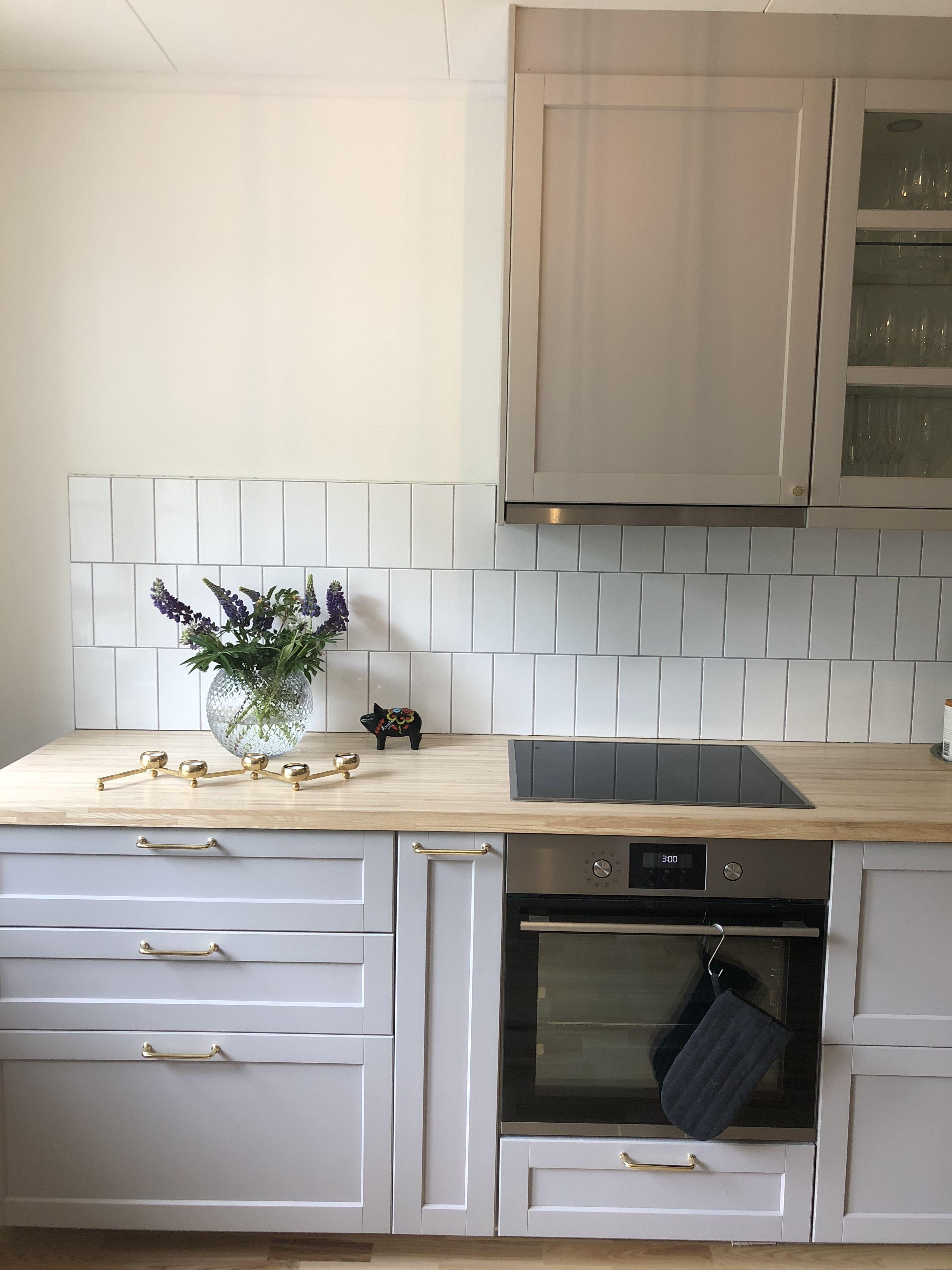 Ikea lerhyttan ljusgrå pinnarp   Kök ikea inspiration