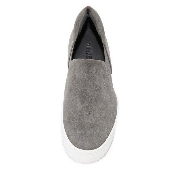 Vince Warren Platform Sneakers (€212) ❤ liked on Polyvore featuring shoes, sneakers, platform shoes, platform sneakers and platform trainers