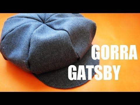 Como hacer un Sombrero de fieltro estilo cloché años 20 vintage ... ed00d14a129
