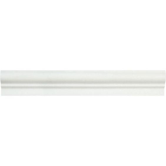 Thassos White Marble Polished Og 1 Chair Rail Molding Trim Moldings And Trim Chair Rail Molding Chair Rail