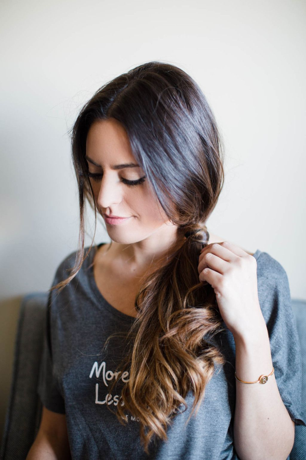 low side pony   beautify   hair styles, bridesmaid hair