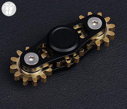 NEW BRASS METAL EDC FIDGET SPINNER SOLID BODY TOY