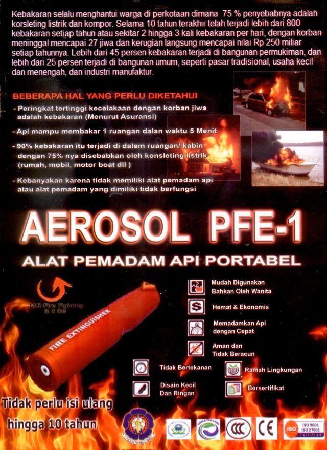 Alat Pemadam Api Mini / Portable. DKL Portable Fire