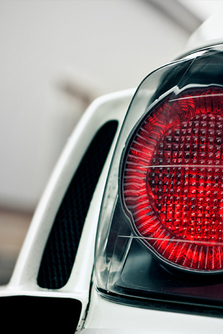 Tail Light Closeup Android Wallpaper HD