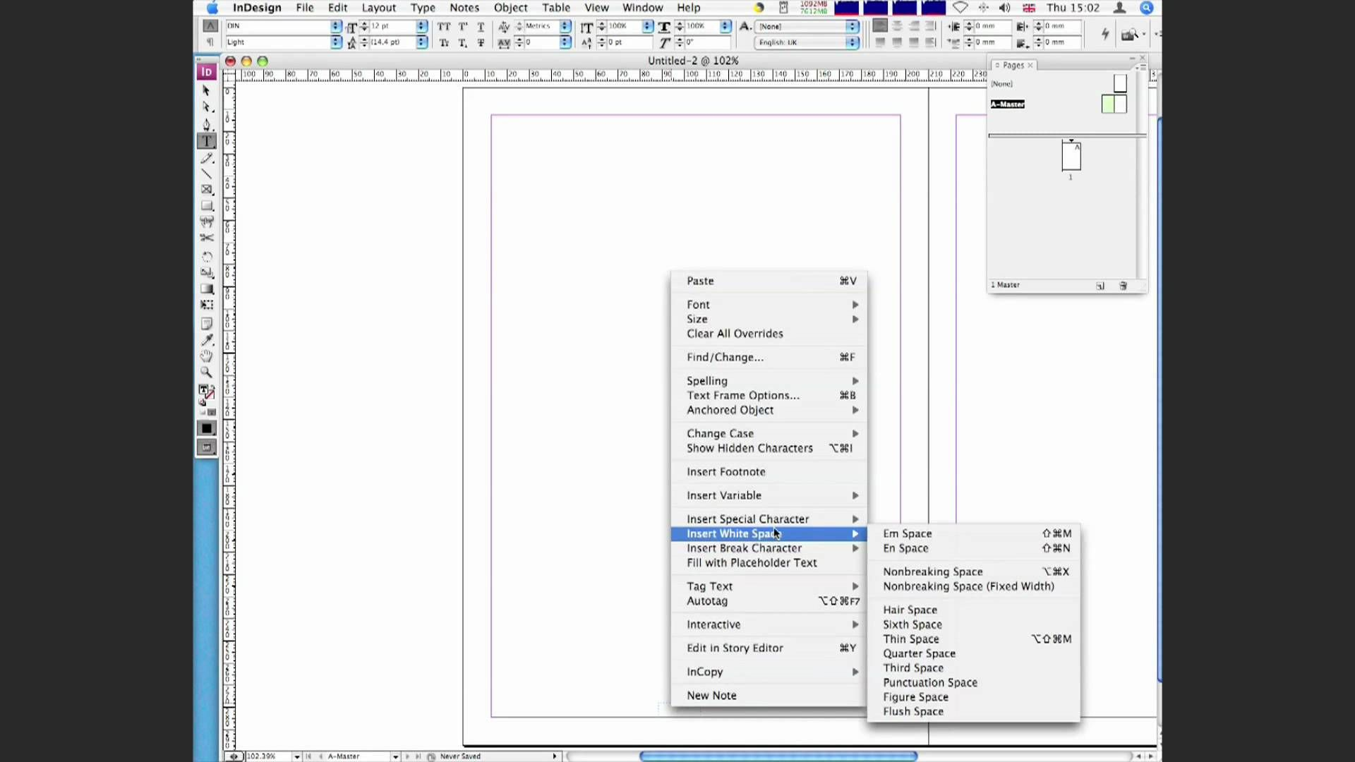 How To Add Auto Page Numbering In Indesign Cs3 And Cs4 Indesign Page Number Ads