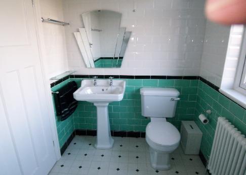 Art Deco Bathrooms 1930s | Full Bathroom Refit, Art Deco Style, In This  1930u0027s