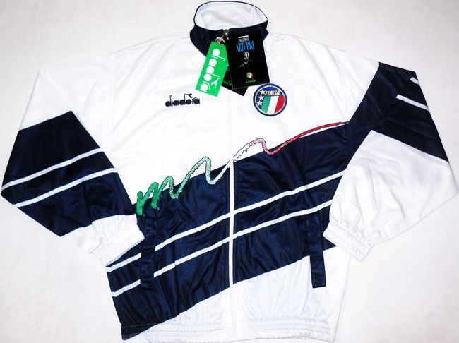 1990 Diadora Italy Track Top