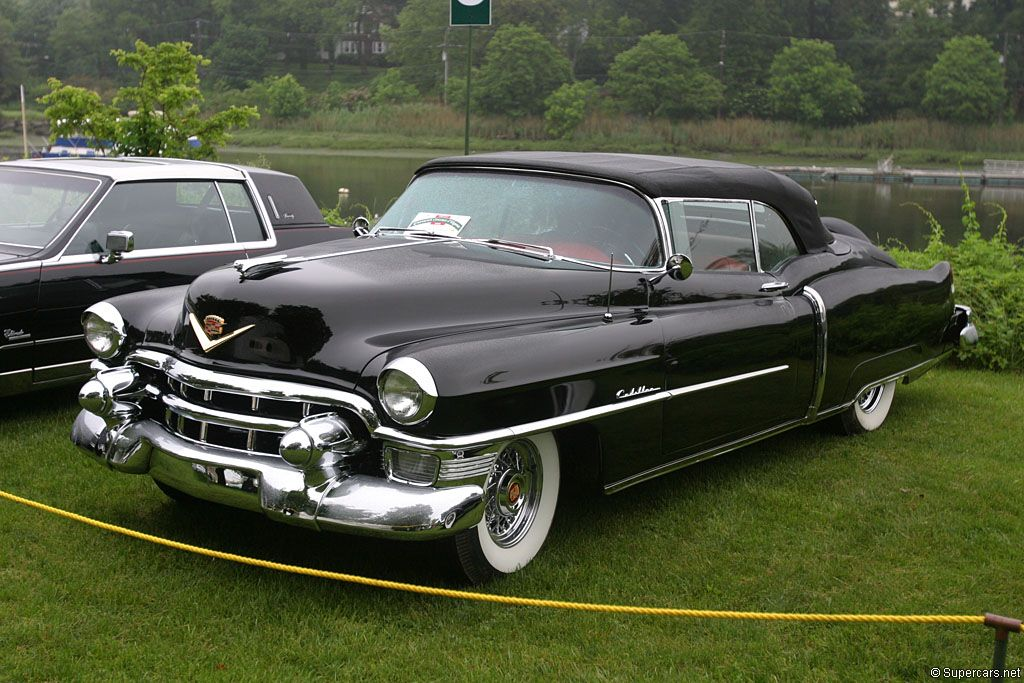 1953 Cadillac Eldorado Convertible The Meanest Looking Cars Of All Time Pinterest Parks