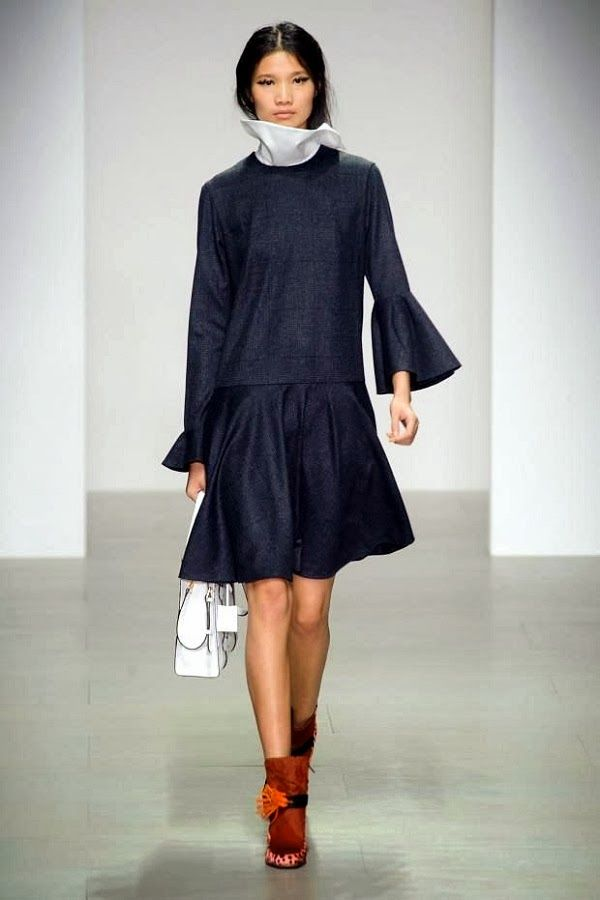The Style Examiner: Eudon Choi Autumn/Winter 2014 Womenswear