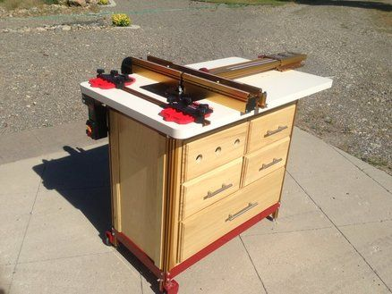 Project Ideas Built Router Table With Incra Hardware