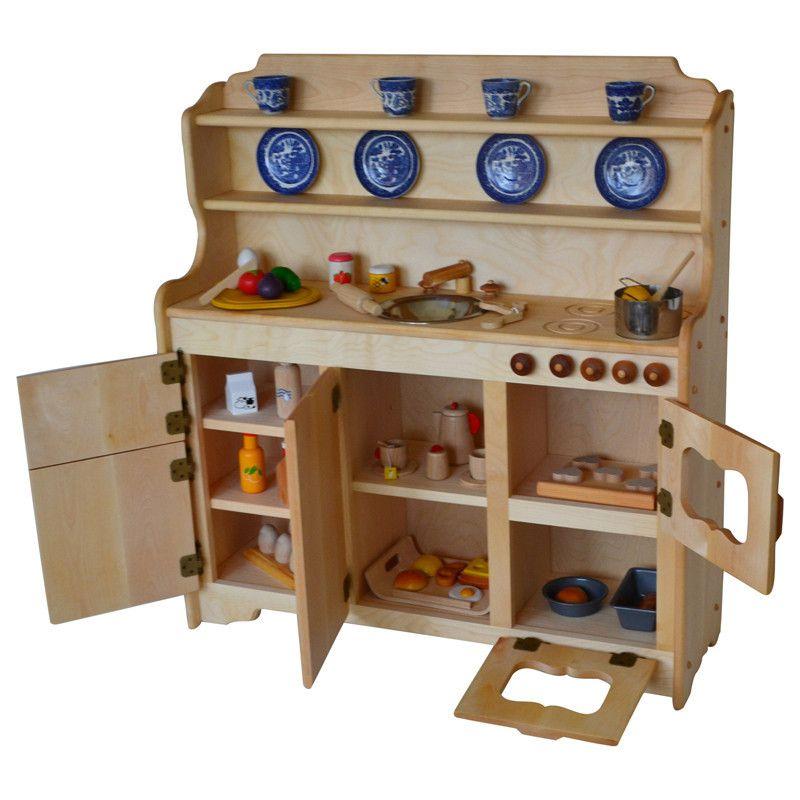 Grampie S Kitchen Deluxe Hardwood Wooden Toy Kitchen Play Kitchen Diy Play Kitchen