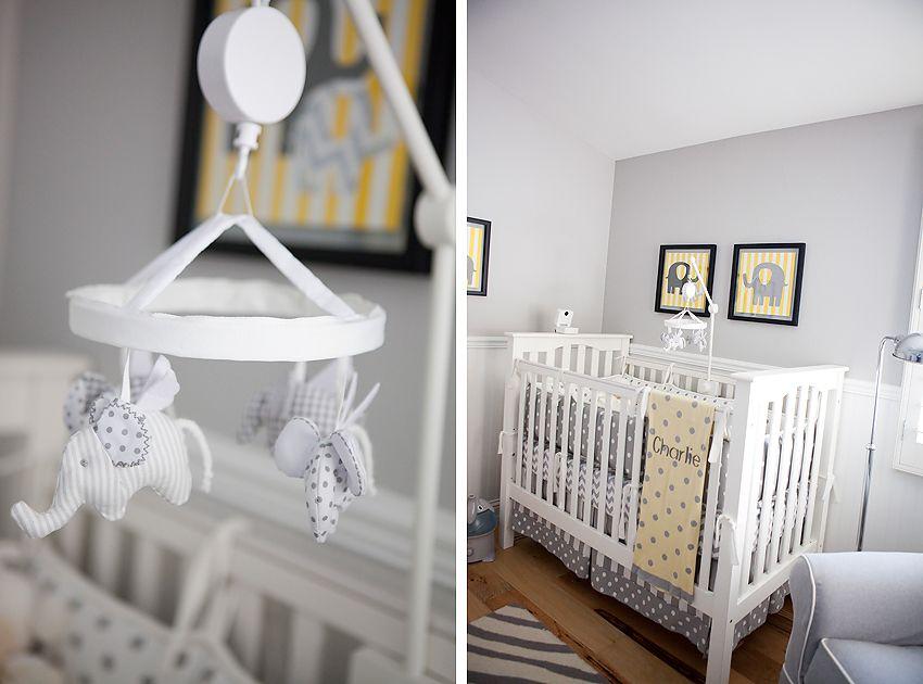 Baby Nursery Ideas Elephants Yellow Elephant Themed Los Angeles Photographer