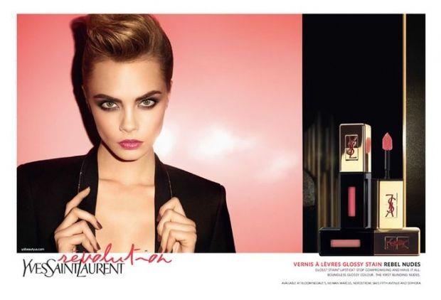 Cara Delevingne é (mais uma vez!) garota-propaganda da YSL Beauty - Vogue | News