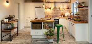 French industrial kitchen #frenchindustrial
