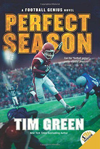 Perfect Season (Football Genius) by Tim Green http://www.amazon.com/dp/0062208705/ref=cm_sw_r_pi_dp_hyHuvb0A2ZNEH