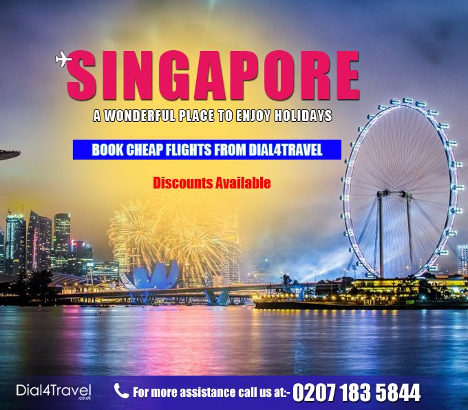 Are you looking for #CheapFlightDeals? Well your search gets end at Dial4Travel. A Number of cheap flight deals are available. Offer limited so to have fun with loved ones, book tickets now at #Dial4Travel. Call at: 0207 183 5844
