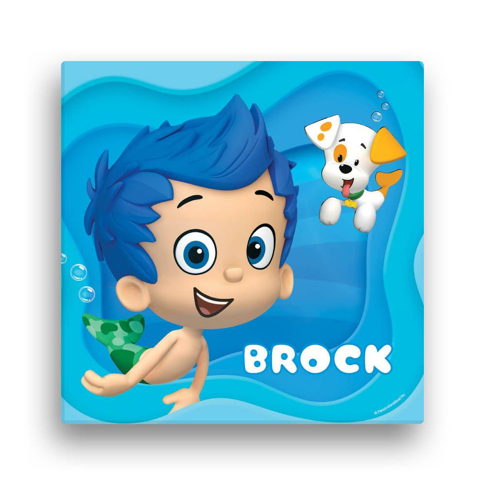 Bubble Guppies Gil 12 x 12 Canvas Wall Art - Wall Decor - Decor ...