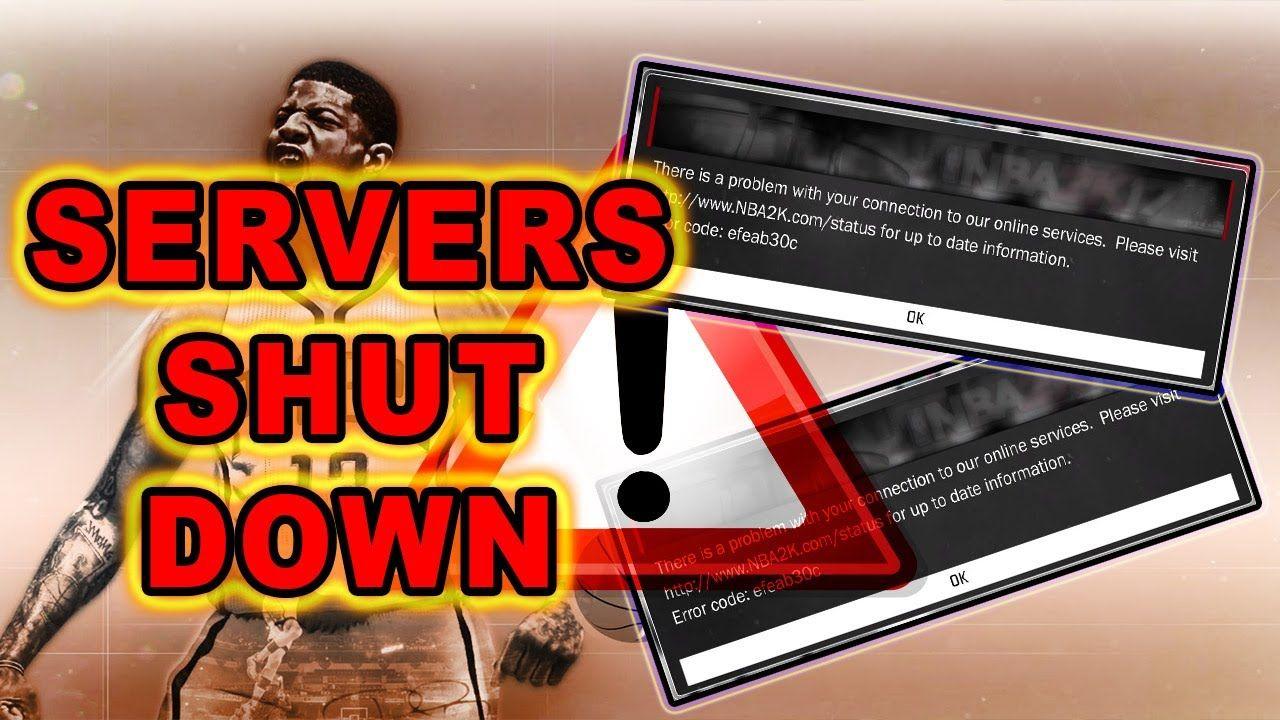 NBA 2K NEWS & UPDATE SERVERS DOWN FOR MAINTENANCE
