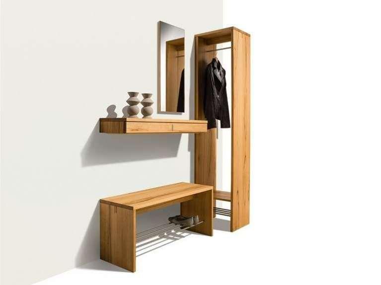 Ingressi Mobili ~ Mobile da ingresso componibile in legno a parete collezione nexus
