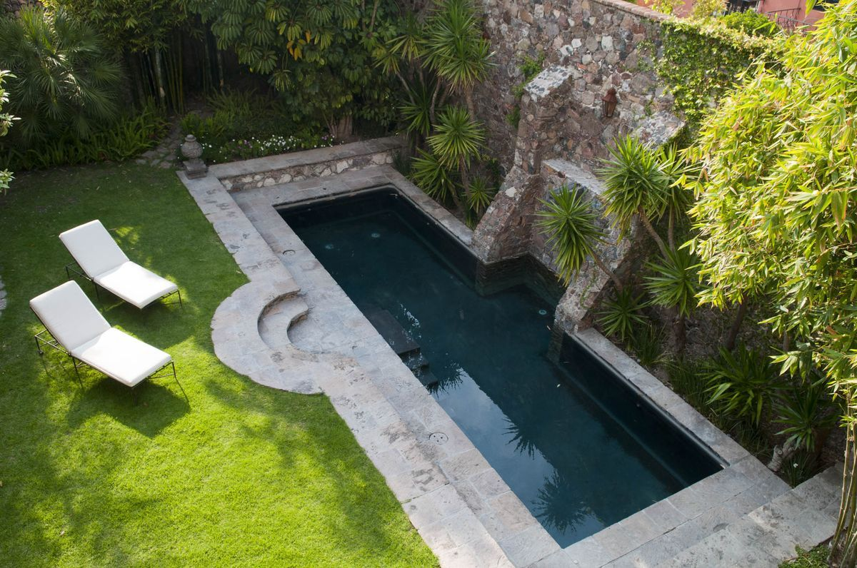 Live in a 18th Century Mexican Mansion Hidden Behind Plain Walls