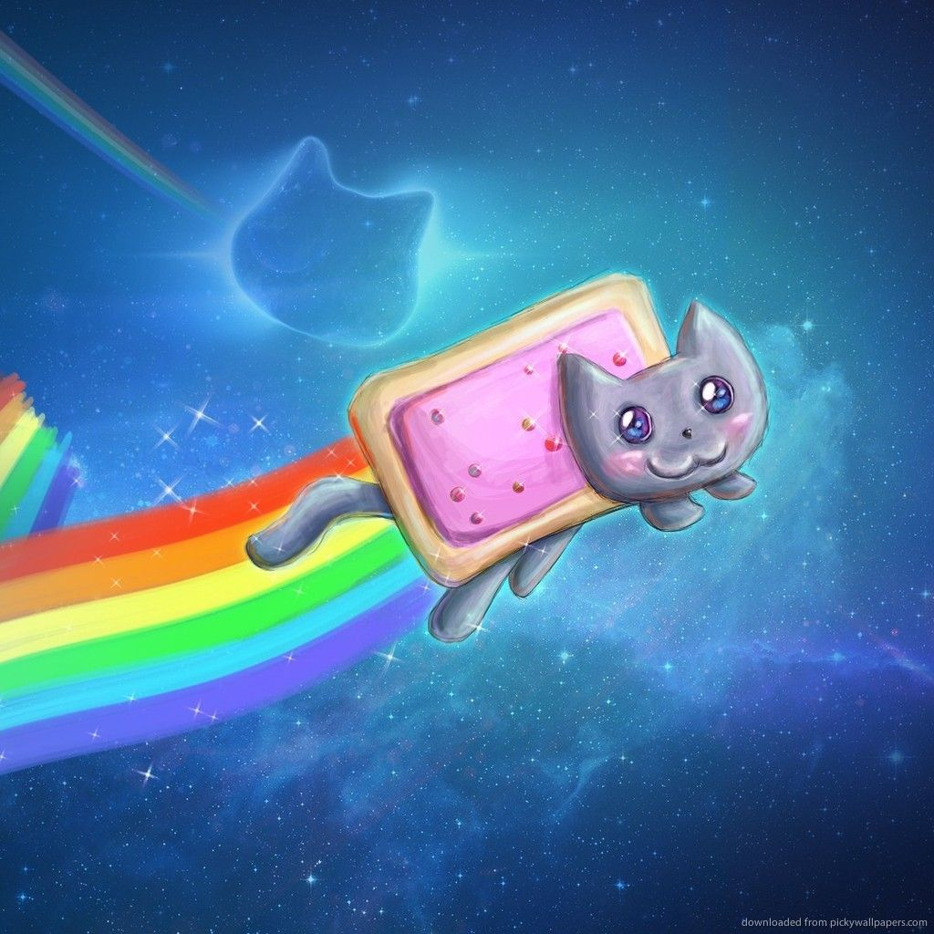 Download Nyan Cat Cool Art Wallpaper For Ipad Stuff To Buy