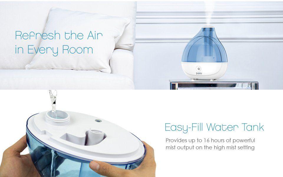 Ultrasonic Cool Mist Humidifier Premium Humidifying Unit