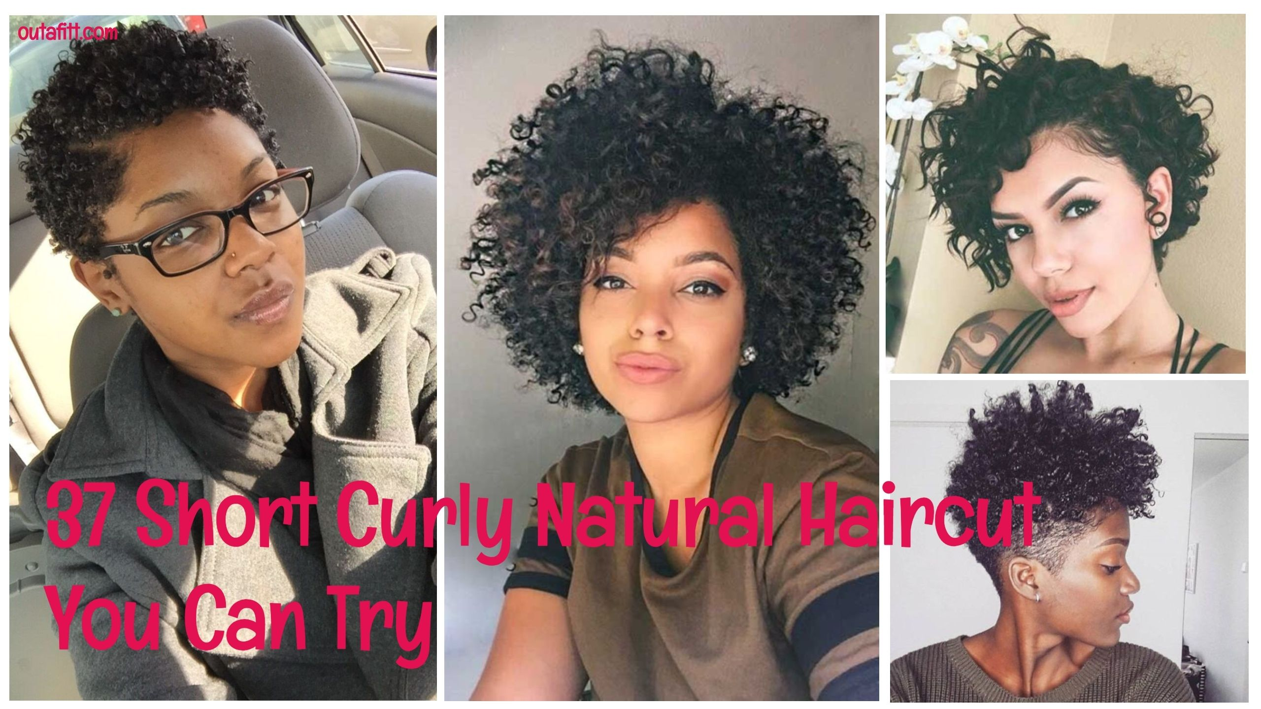 37 short curly natural haircut you can try   hairstyle