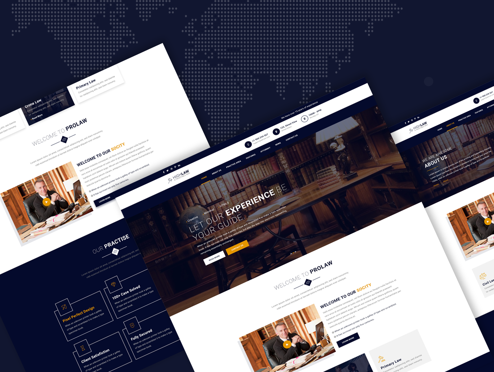 Highlaw Law Firm Attorney Html5 Templates 29 Usd Thesoftking