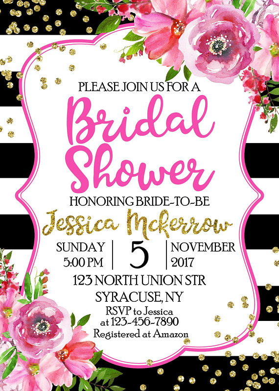 bridal shower invitation bridal shower invitation birthday party invitation party invitations 1
